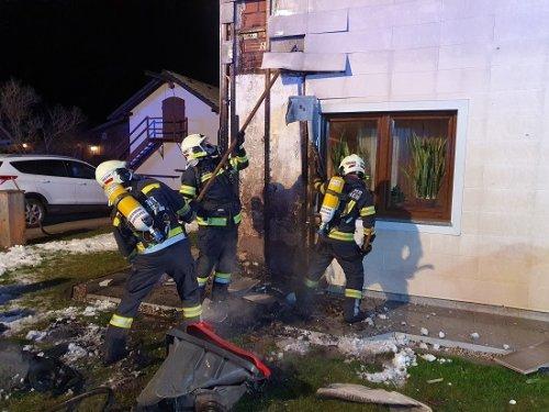Brand vom 08.01.2021  |  (C) Freuerwehr Laakirchen (2021)